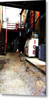 Metal Print featuring the photograph Lonely Passage by Cyryn Fyrcyd