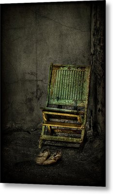Long Is The Time. Hard Is The Road. Metal Print by Evelina Kremsdorf