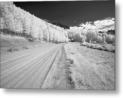 Metal Print featuring the photograph Long Road In Colorado by Jon Glaser
