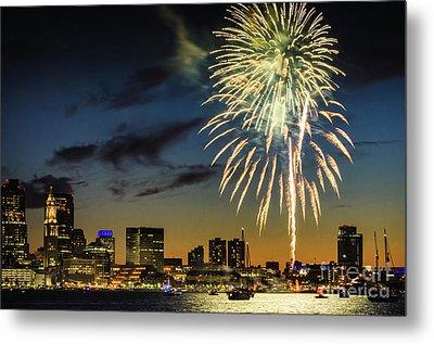 Long Warf Fireworks 1 Metal Print