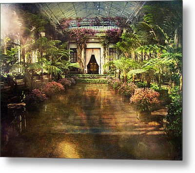 Longwood Gardens Metal Print by John Rivera