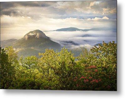 Looking Glass Sunrise - Blue Ridge Parkway Landscape Metal Print by Dave Allen