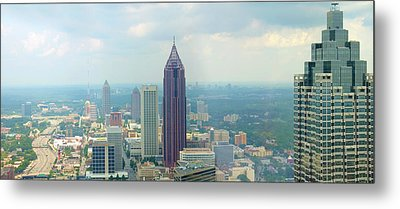 Metal Print featuring the photograph Looking Out Over Atlanta by Mike McGlothlen