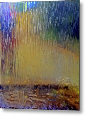 Metal Print featuring the photograph Looks Like Rain by Nareeta Martin