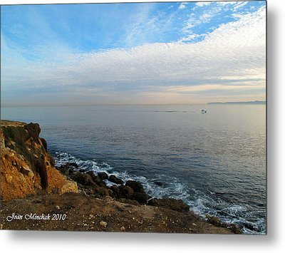 Metal Print featuring the photograph Los Angeles Sunset by Joan  Minchak