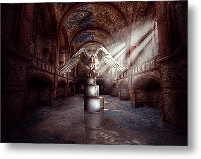 Losing My Religion Metal Print by Nathan Wright
