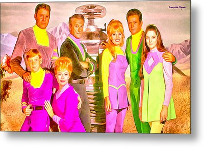 Lost In Space Team - Pa Metal Print by Leonardo Digenio