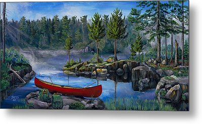 Lost In The Boundary Waters Metal Print