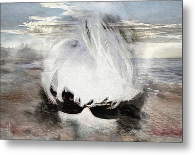 Metal Print featuring the photograph Lost In Thought by Pennie  McCracken