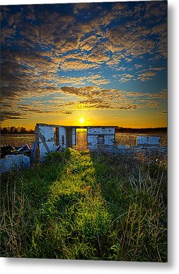 Lost In Time Metal Print by Phil Koch