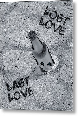 Lost Love Last Love Metal Print by Shelly Stallings