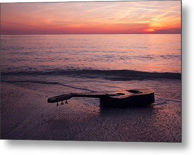 Lost Tune Metal Print