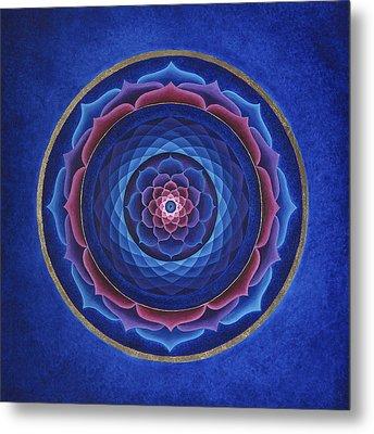 Lotus Eye Metal Print