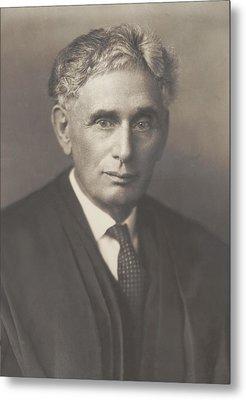 Louis Brandeis 1856-1941, Was Appointed Metal Print