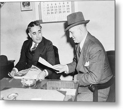 Louis Capone 1896-1944 Metal Print by Everett