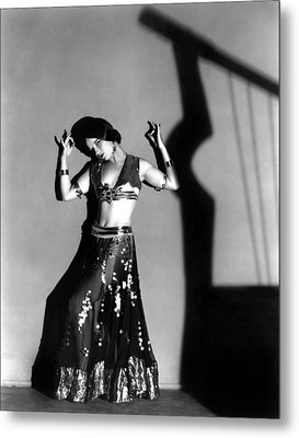 Louise Brooks As A Denishawn Dancer Metal Print by Everett