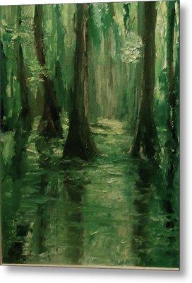 Louisiana Swamp Metal Print