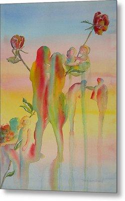 Love Is Eternal Metal Print by Debbie Lewis
