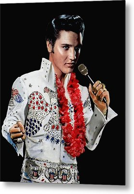Love Me Tender Metal Print