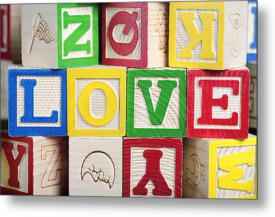 Love Metal Print by Neil Overy