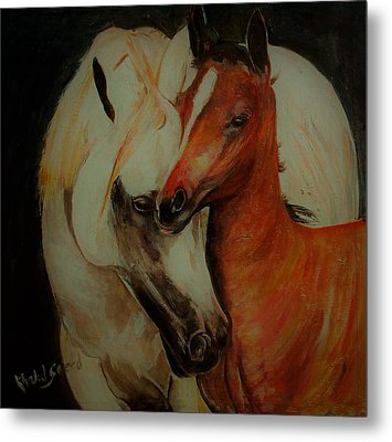 Love You Sooo Much Metal Print by Khalid Saeed