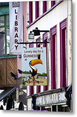 Lovely Day For A Guinness Macroom Ireland Metal Print
