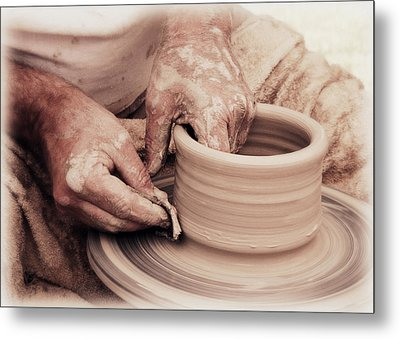 Loving Hands Creation Metal Print by Emanuel Tanjala