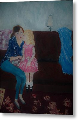 Loving Moment Metal Print