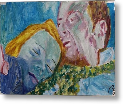 Lucian And Kate Iv Metal Print by Bachmors Artist