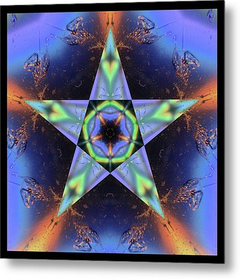 Lumimatter Metal Print by Bell And Todd