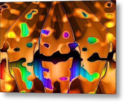 Luminence Metal Print by Ron Bissett