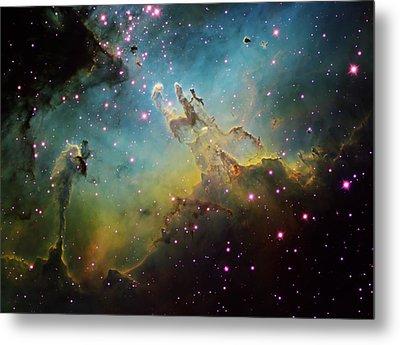 M16 The Eagle Nebula Metal Print