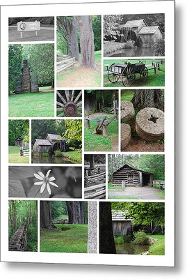 Metal Print featuring the photograph Mabry Mill by Eric Liller