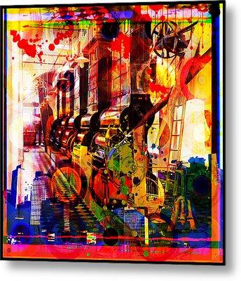 Machine Age-1 Metal Print by Gary Grayson