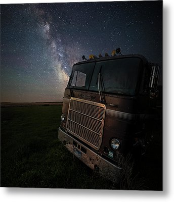 Metal Print featuring the photograph Mack by Aaron J Groen