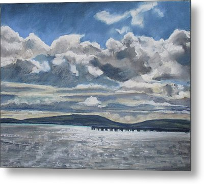 Mack Point, Searsport Metal Print by Grace Keown