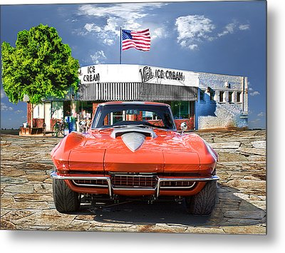 Metal Print featuring the photograph Made In The U.s.a. by Michael Cleere