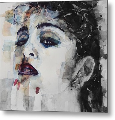 Metal Print featuring the mixed media Madonna  Like A Prayer by Paul Lovering