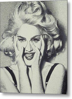 Madonna Metal Print by Randy Ford