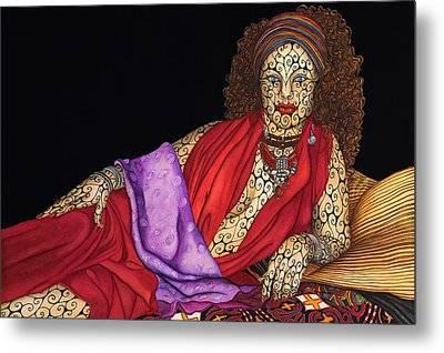 Magdalena Metal Print by Tina Blondell