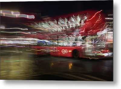 Metal Print featuring the photograph Magic Bus by Alex Lapidus