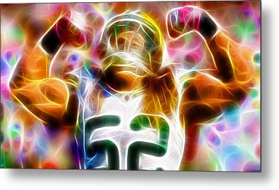 Magical Clay Matthews Metal Print by Paul Van Scott