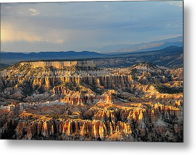 Magical Light At Bryce Canyon  Metal Print