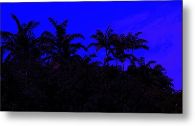 Magical Miami Metal Print by Lessandra Grimley