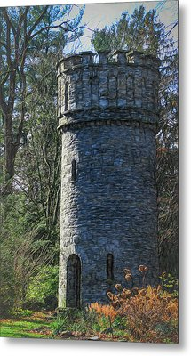 Magical Tower Metal Print