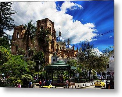 Magnificent Center Of Cuenca, Ecuador IIi Metal Print by Al Bourassa