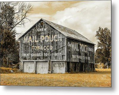 Mail Pouch Barn - Us 30 #3 Metal Print