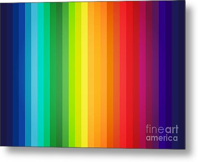 Main Colors Palette Spectrum Metal Print by Radu Bercan