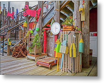 Maine Attraction Metal Print by Betsy Knapp