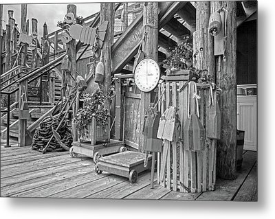 Maine Attraction Bw Metal Print by Betsy Knapp